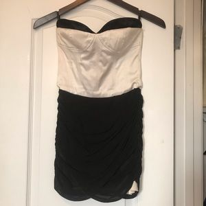Black & White BEBE cocktail dress